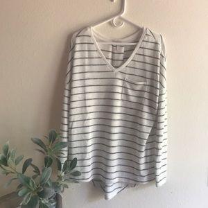 Long striped shirt